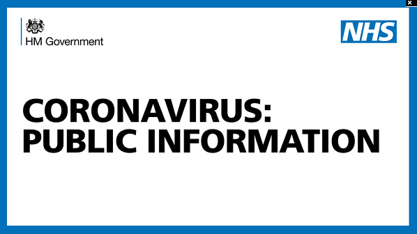 Coronavirus – notify your waiting clients.